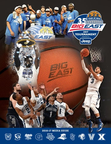 cbc46e6a9a23c 2016-17 Men's Basketball Media Guide by BIG EAST Conference - issuu