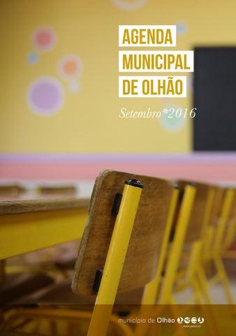 Agenda Municipal de Olhão // SET*16 - 8700-olhao.com #Olhão