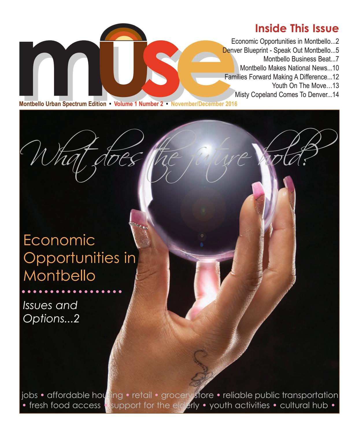 Muse novemberdecember 2016 by denver urban spectrum issuu malvernweather Choice Image