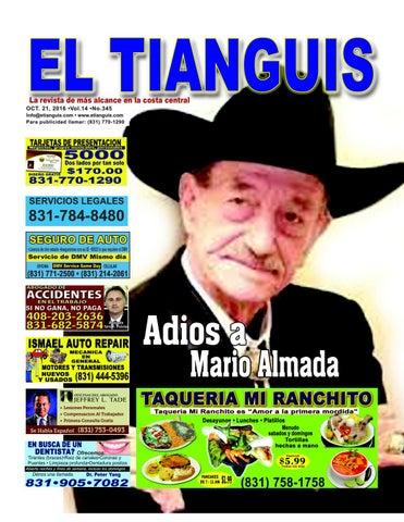 El Tianguis Oct 21 2016 Vol 345 By El Tianguis Magazine Issuu