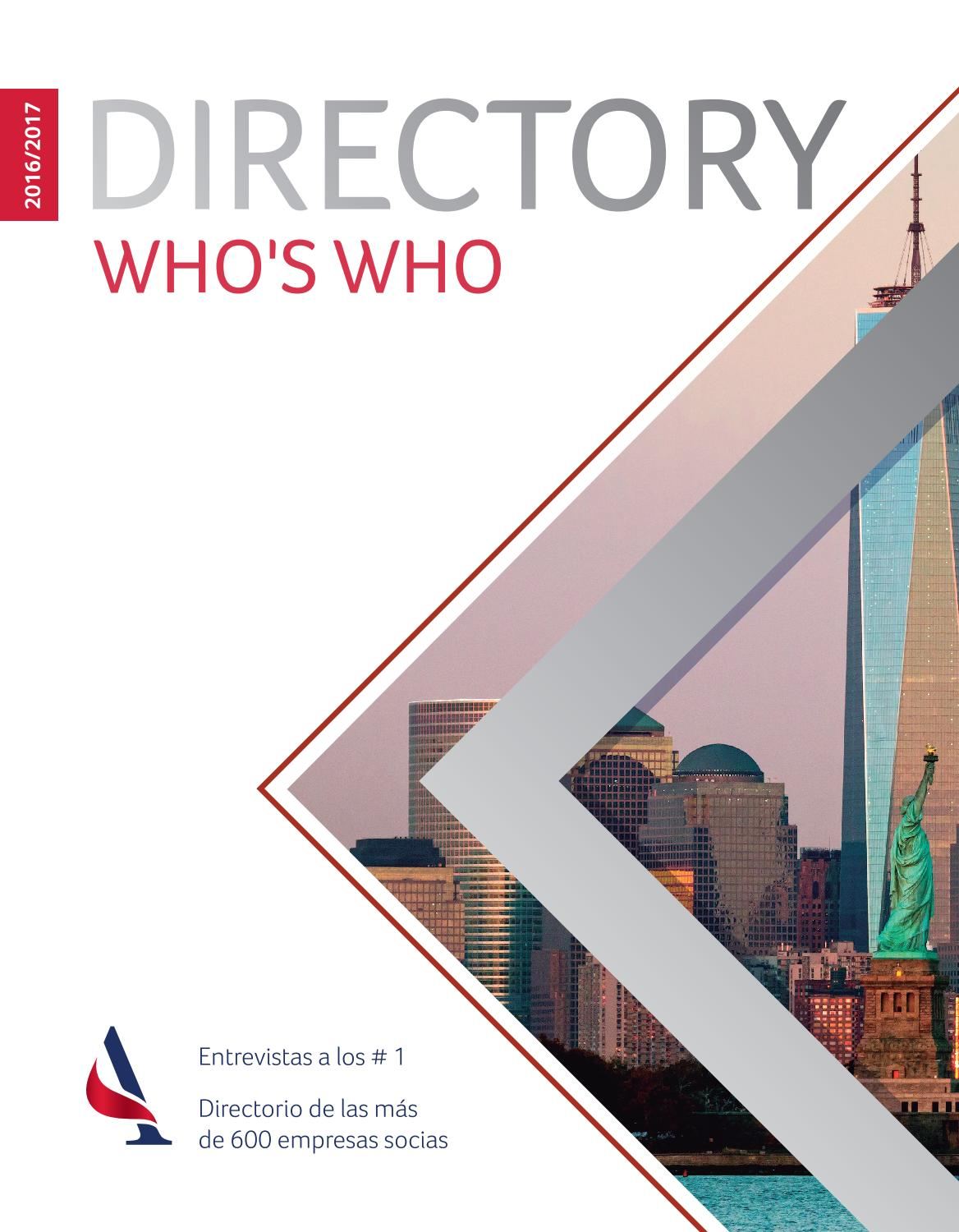 37674ab6 Directory - Who´s Who 2016/2017 by AmCham Argentina - issuu
