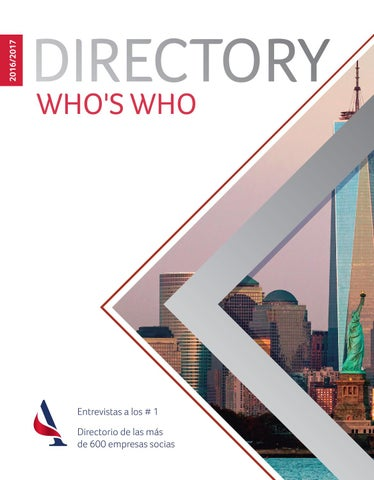 Directory - Who´s Who 2016/2017 by AmCham Argentina - issuu