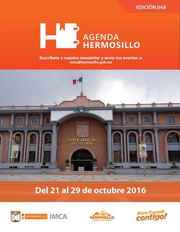 """Cover of """"Agenda Hermosillo 21octubre2016"""""""