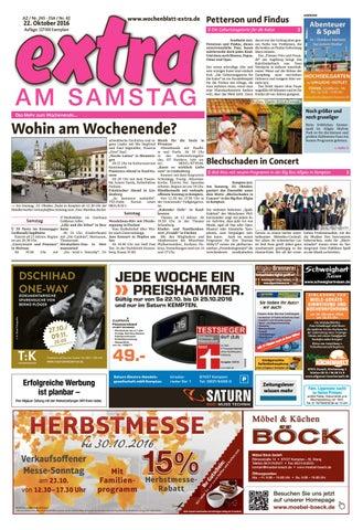extra am Samstag vom Samstag 22 Oktober by rtasign GmbH issuu