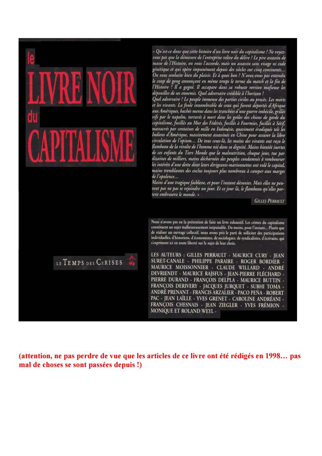 Le livre noir du capitalisme by Lectures du Désordre - issuu 36fac4cbd9db