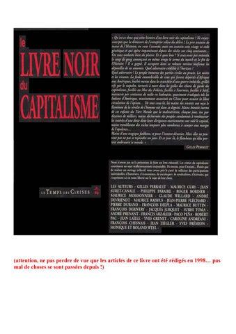 373bf361bf27 Le livre noir du capitalisme by Lectures du Désordre - issuu