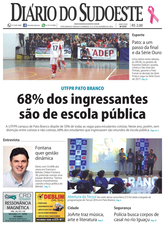 Diário do sudoeste 22 e 23 de outubro de 2016 ed 6747 by Diário do Sudoeste  - issuu 6807a83758ed7