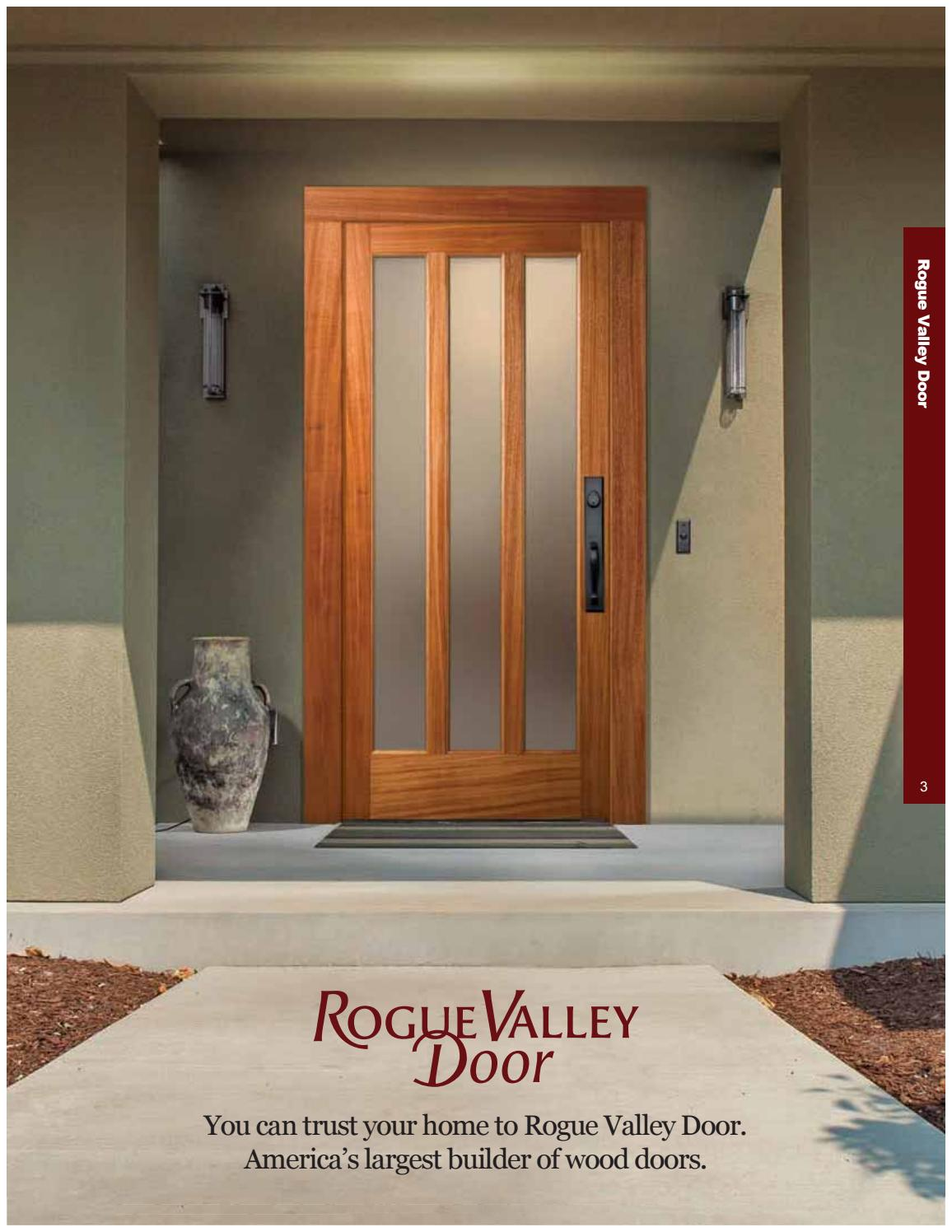 & Rogue Valley Door Catalog by Horner Millwork - issuu