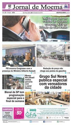 fb40c3dd1 Edição - 1070 - 22 a 28 de Outubro de 2016 by Grupo Sul News - issuu