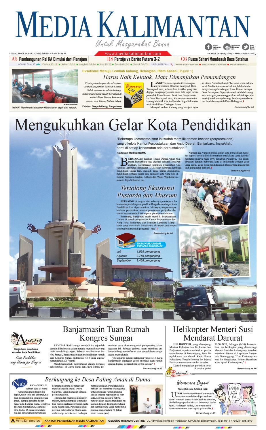 MEDIA KALIMANTAN SENIN 10 OKTOBER 2016 by Media Kalimantan - issuu 4e9aacb789