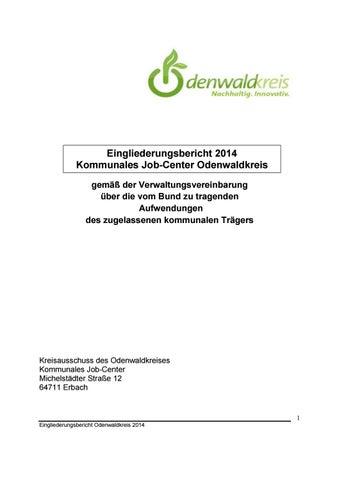 Kommunales Job-Center Odenwaldkreis Eingliederungsbericht 2014 by ...