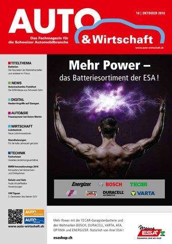 Aw 10 2016 By A W Verlag Ag Issuu