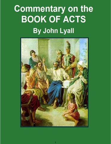 Book Of Acts Audio