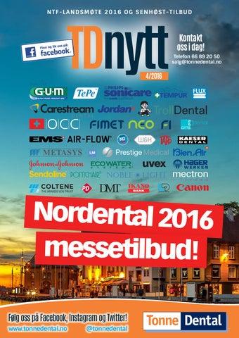 f53bca13 TDnytt 4-2016 by Tonne Dental AS - issuu