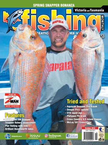 a28f88a974f2 Victoria Fishing Monthly - October 2016 by Fishing Monthly - issuu