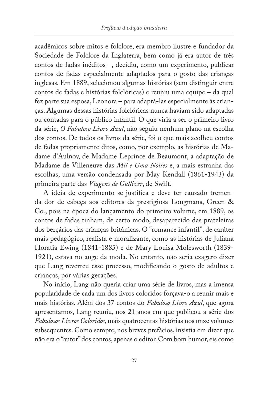 O Fabuloso Livro Azul - Andrew Lang by Editora Concreta - Issuu