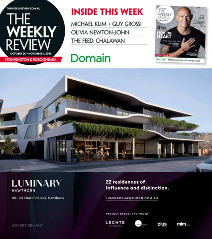 The Weekly Review Stonnington Boroondara By