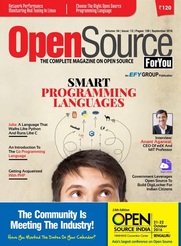 Open source for you september 2016 by badaghaleez - issuu