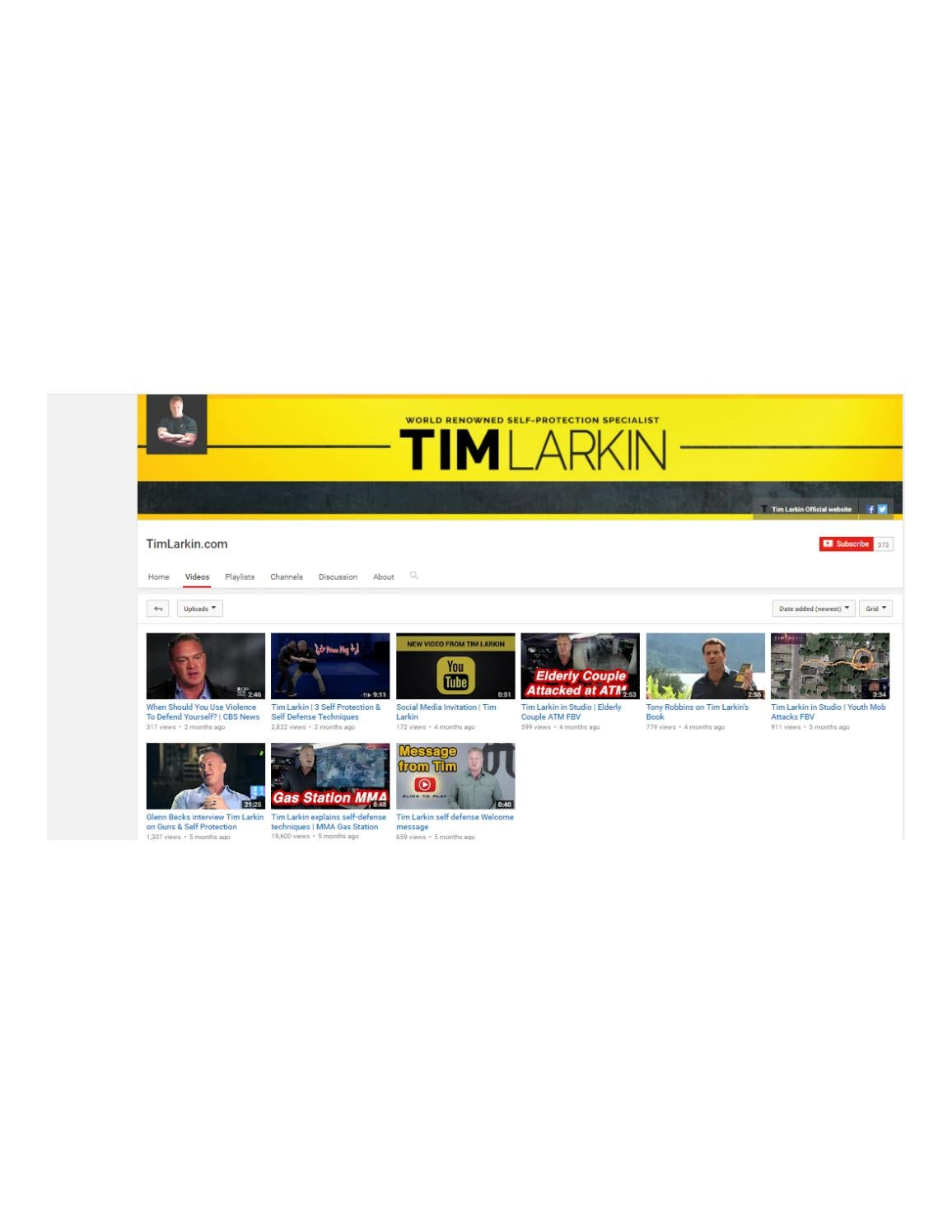 Tim larkin videos