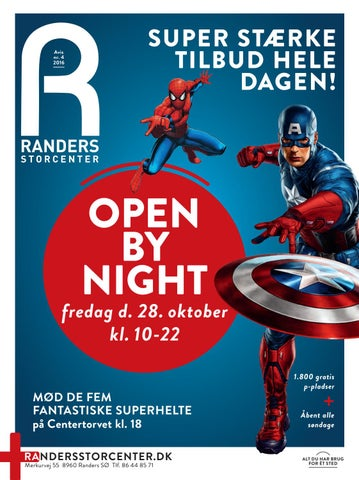 randers storcenter open by night 2016