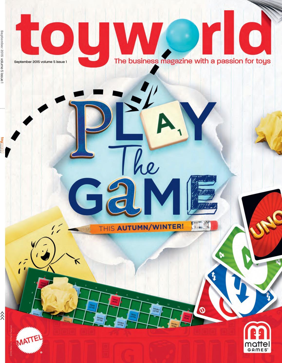 Toyworld Sept 2015 By Magazine Issuu Simple Brain Diagram For Kids Aofcom