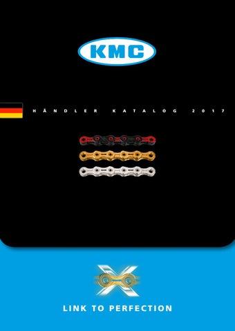 KMC MissingLink CL-573 R Kettenschloss 1//2/×3//32 //// f/ür 1-Fach Kette