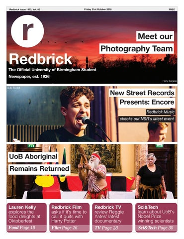 0a456acd2705 Redbrick - Issue 1473 by Redbrick - issuu
