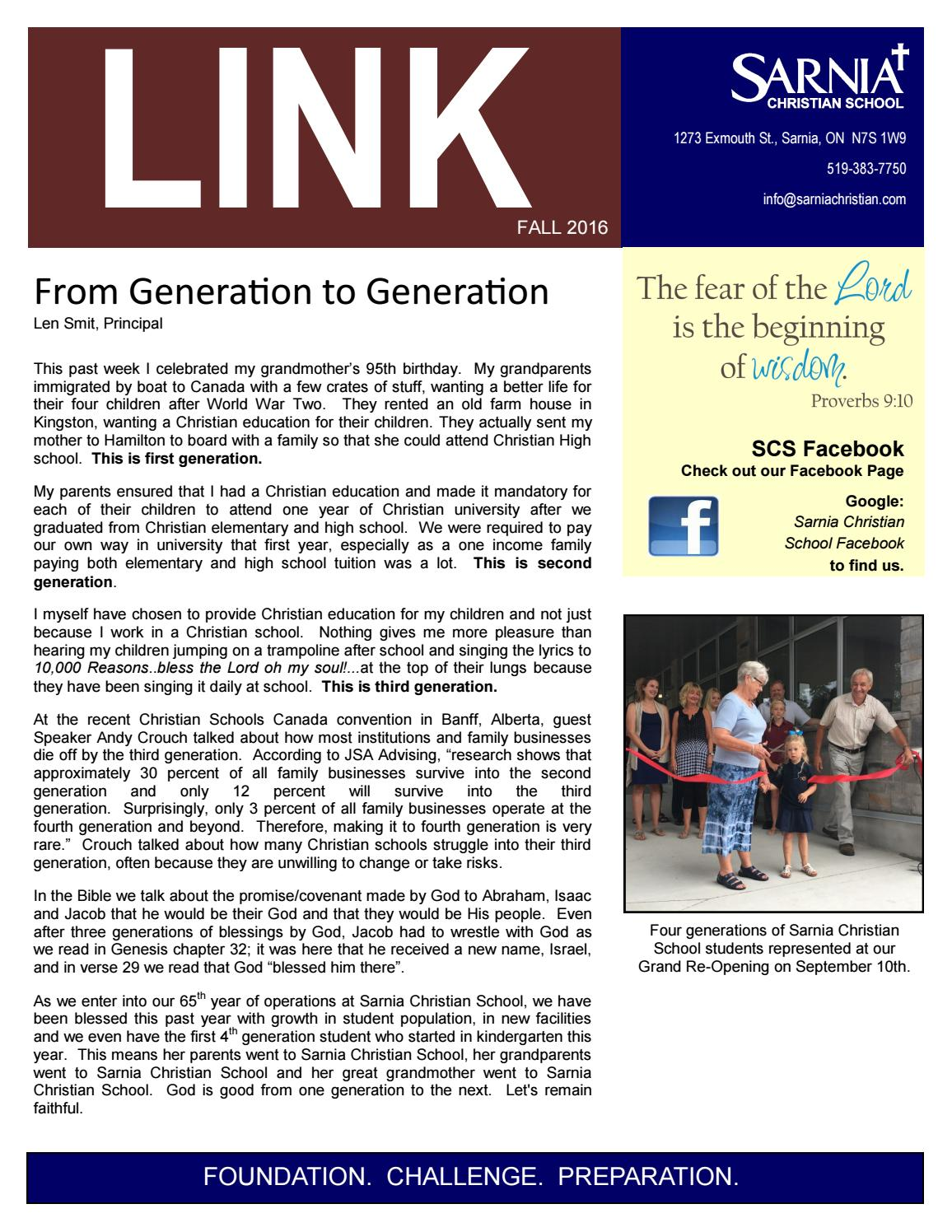 SCS Fall LINK 2016 by Len Smit - issuu