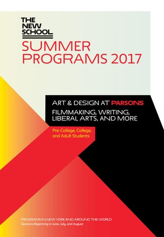 Groovy The New School Summer Programs 2017 By The New School Issuu Interior Design Ideas Clesiryabchikinfo