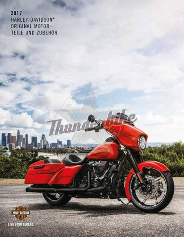 Harley-Davidson P&A Katalog 2017 Teil 1 by Thunderbike - issuu