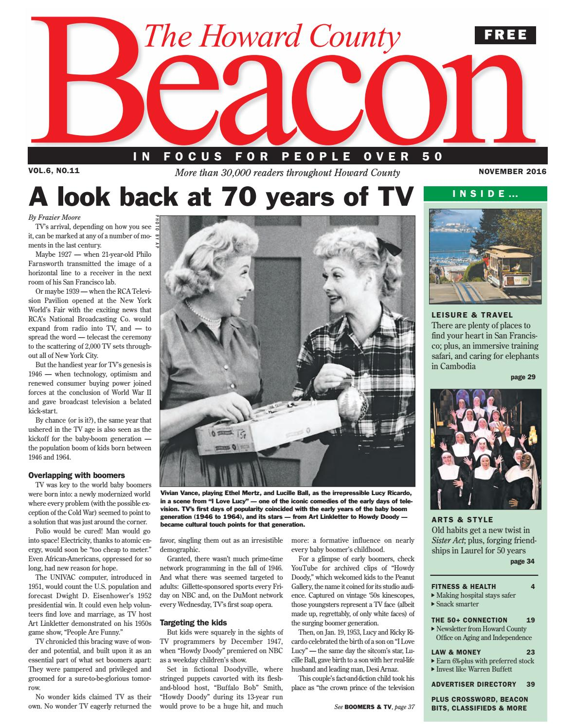 November 2016 Howard County Beacon By The Beacon Newspapers Issuu