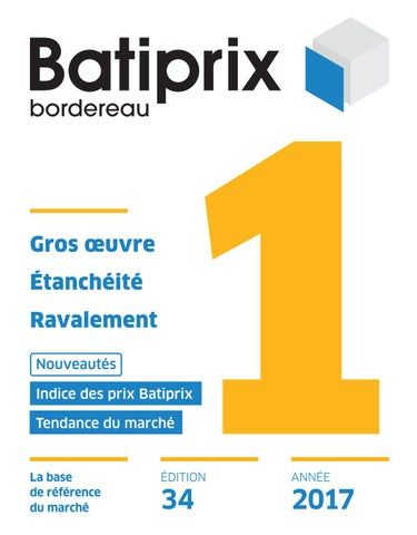 batiprix 2017 gratuit