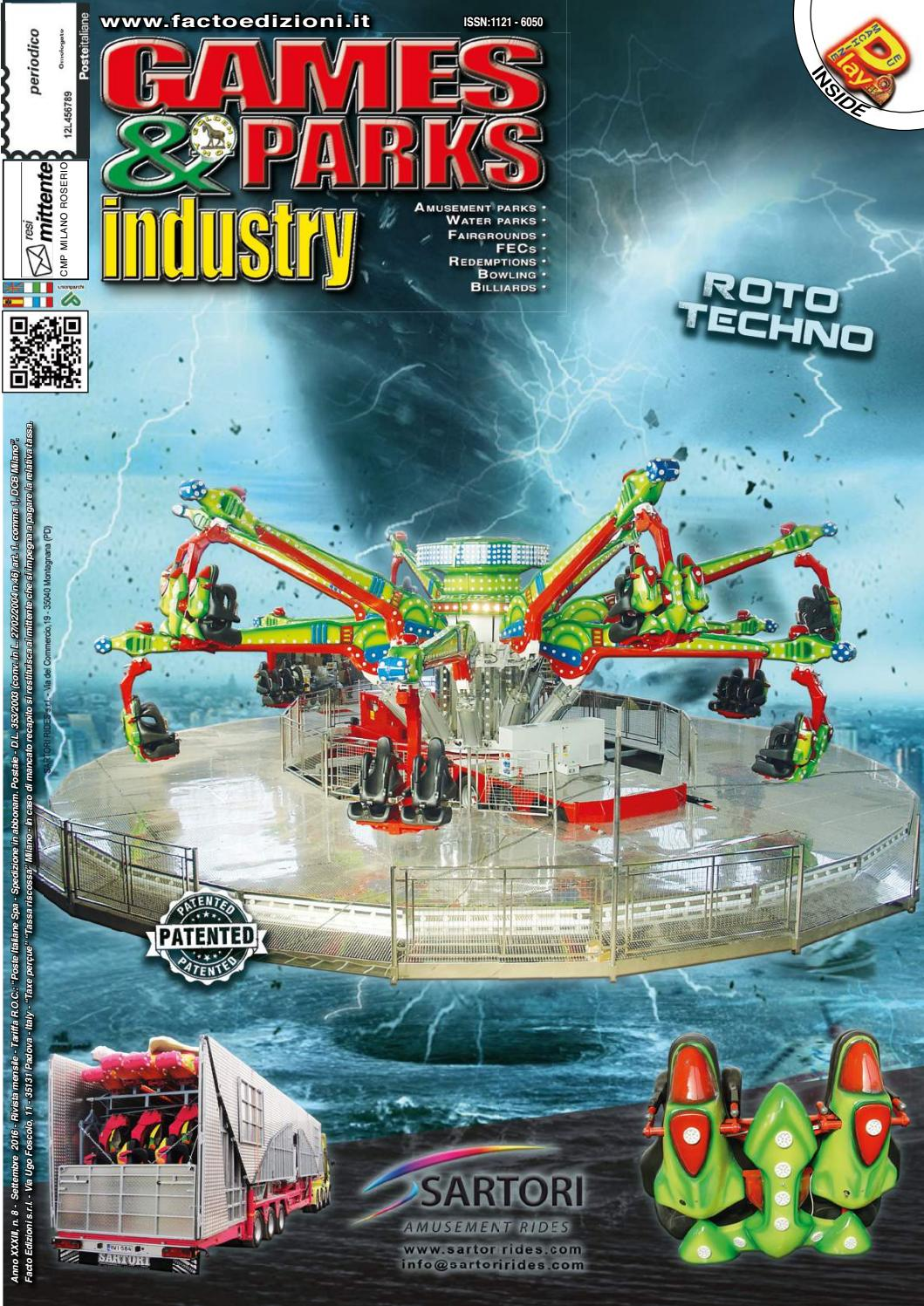 Games & Parks Industry September 2016 by Games & Parks