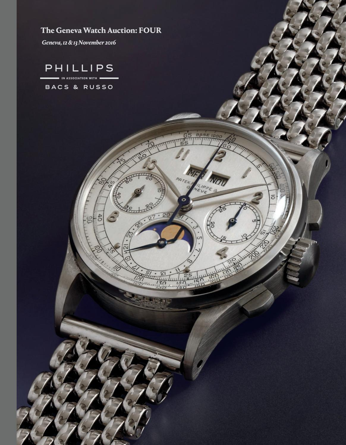 683de10ecf5 THE GENEVA WATCH AUCTION  FOUR  Catalogue  by PHILLIPS - issuu