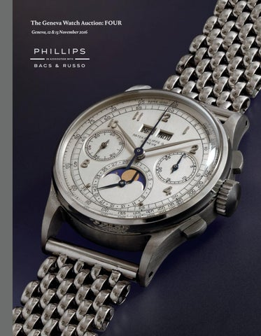 4107e7a807d THE GENEVA WATCH AUCTION  FOUR  Catalogue  by PHILLIPS - issuu