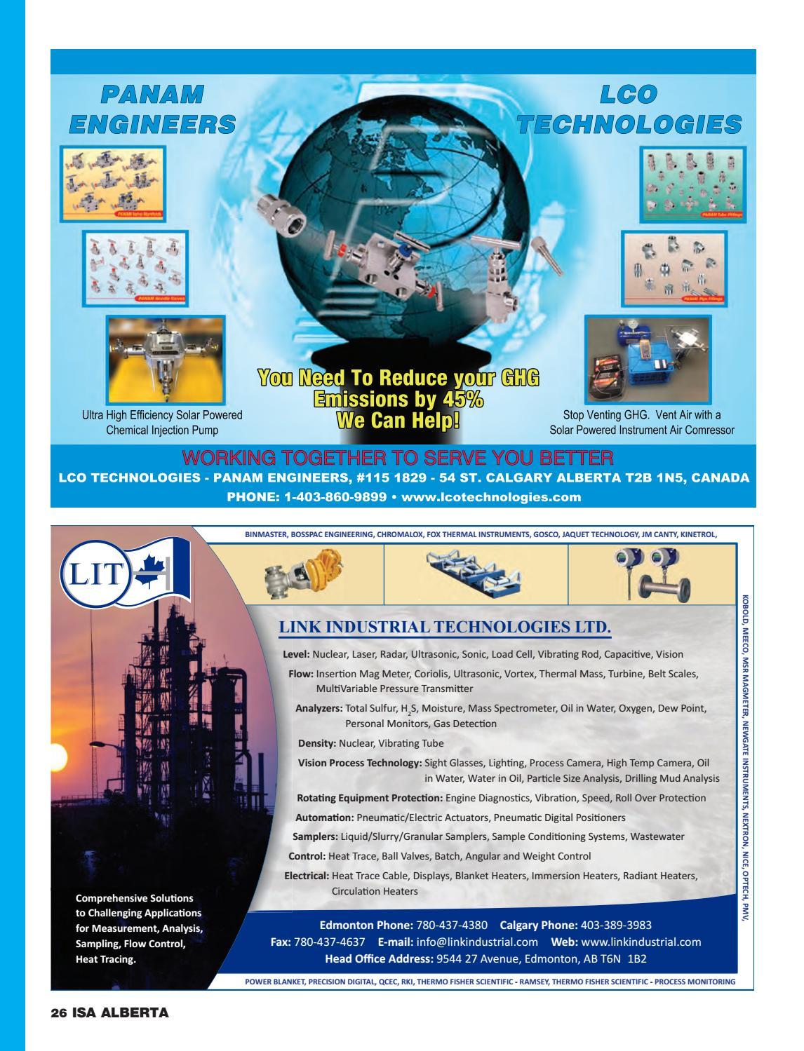ISA Alberta Directory 23edition2016 by ISA Alberta Directory
