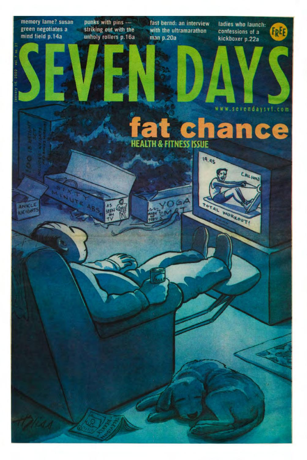 Seven Days, January 16, 2002 by Seven Days - issuu