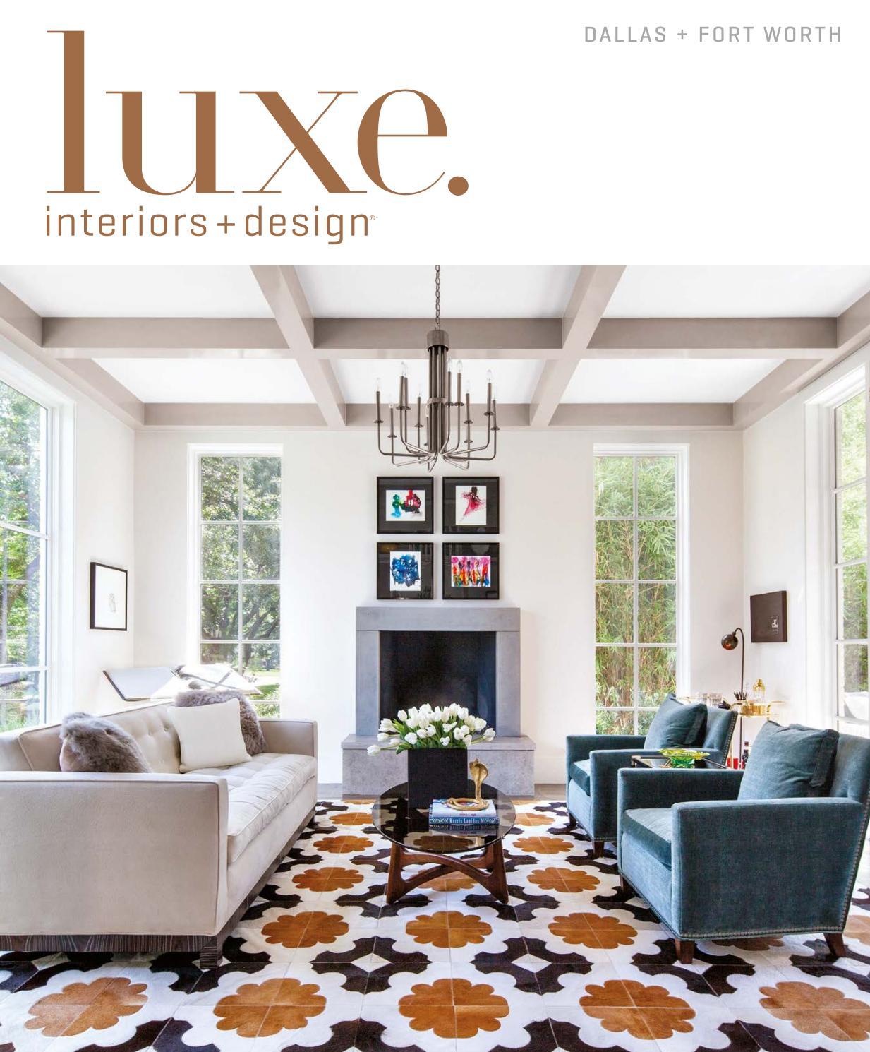 Luxe Magazine November 2016 Dallas By SANDOWR