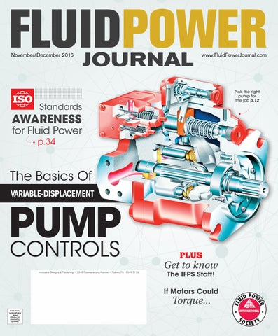 Fluid Power Journal Novemberdecember 2016 By Innovative Designs