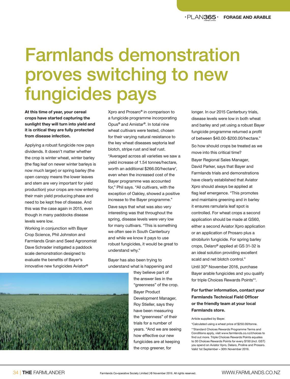 Farmlander November 2016 South by Farmlands - issuu