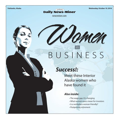 Women In Business 2016 By Fairbanks Daily News Miner Issuu