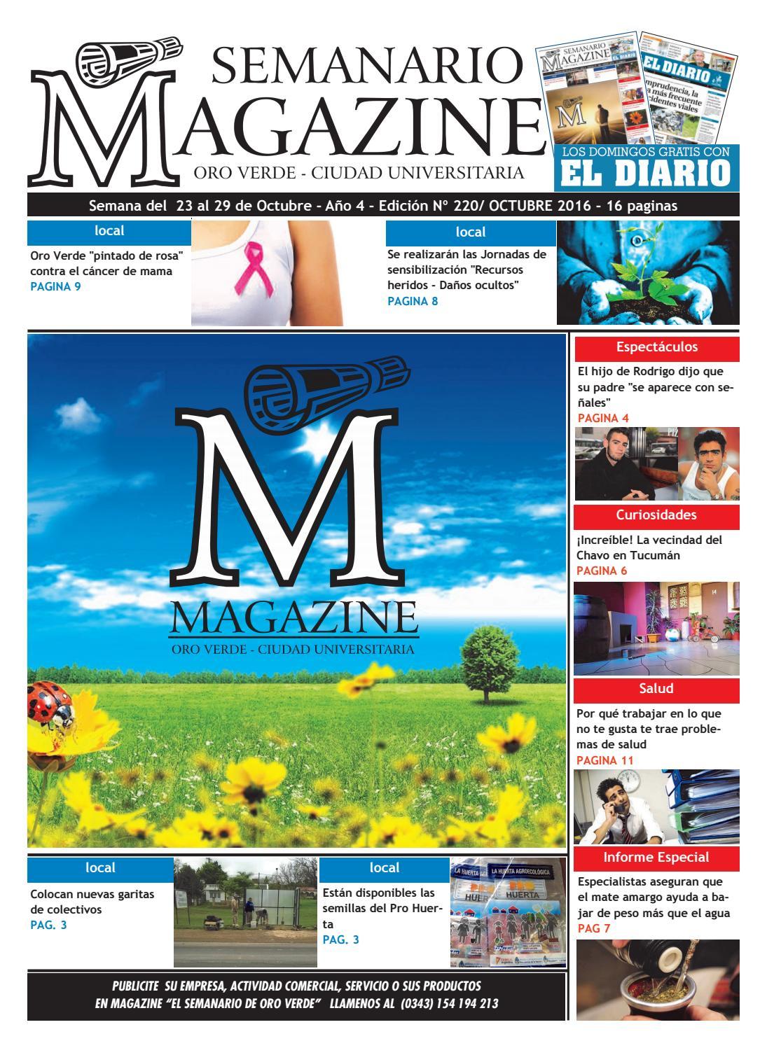 92 Semanario Magazine Edicion N 220 Semana Del 23 Al 29