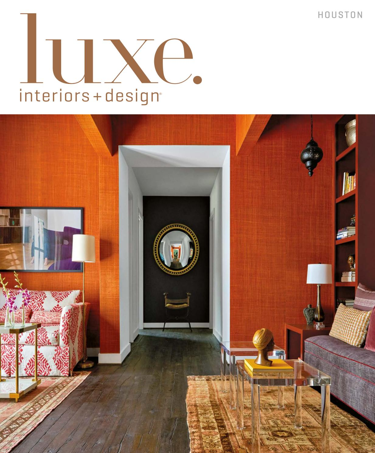 Luxe magazine november 2016 houston by sandow issuu for Www savoyhouse com