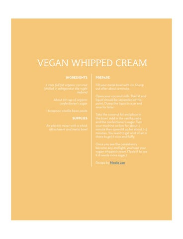 Page 61 of Vegan Whipped Cream