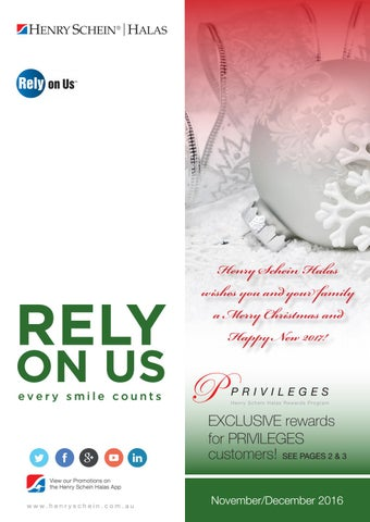 Novdec rely on us by henry schein halas issuu page 1 fandeluxe Images