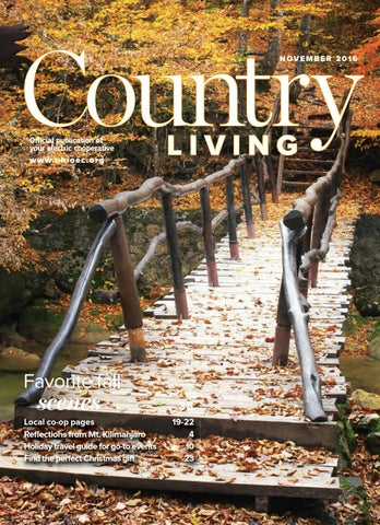 fc2e302b11 Country Living November 2016 North Central by American MainStreet ...