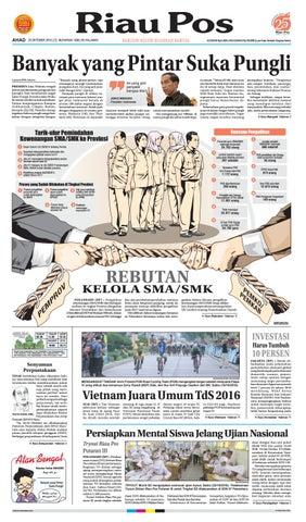 2016 10 23 by Riau Pos - issuu 3270fd05a6