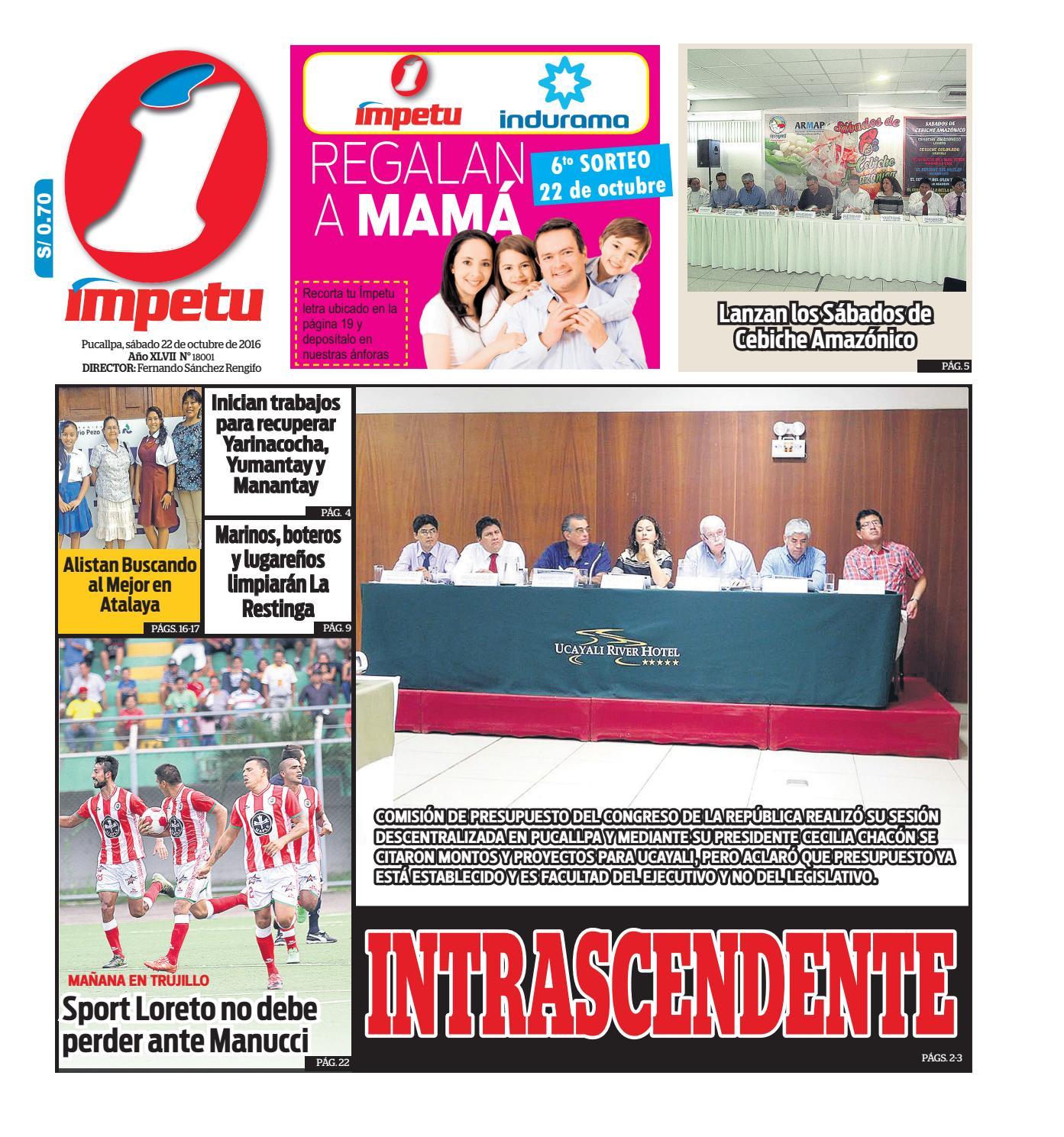 Impetu 22 de octubre de 2016 by Diario Ímpetu - issuu