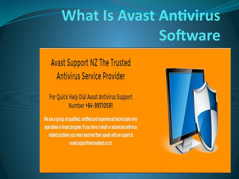 What is avast antivirus software   Avast Customer Care