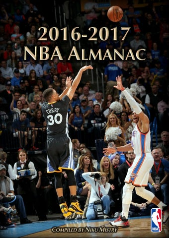 2016-17 NBA Almanac by Niku Mistry - issuu 3e41fb00a